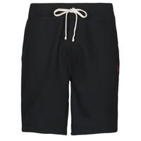 Abbigliamento Uomo Shorts / Bermuda Polo Ralph Lauren SHORT MOLTONE EN COTON LOGO PONY PLAYER Nero