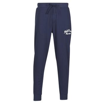 Abbigliamento Uomo Pantaloni da tuta Polo Ralph Lauren BAS DE JOGGING EN MOLTON POLO RALPH LAUREN SIGNATURE Marine