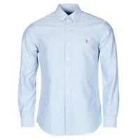 Abbigliamento Uomo Camicie maniche lunghe Polo Ralph Lauren LORENZ Blu