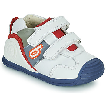 Scarpe Bambino Sneakers basse Biomecanics 202148 Bianco / Blu / Rosso