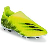 Scarpe Unisex bambino Calcio adidas Performance X GHOSTED.3 LL FG J Giallo / Nero