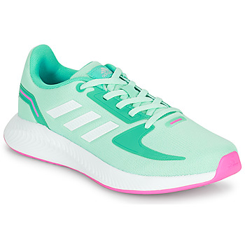 Scarpe Bambina Sneakers basse adidas Performance RUNFALCON 2.0 K Turquoise / Rosa