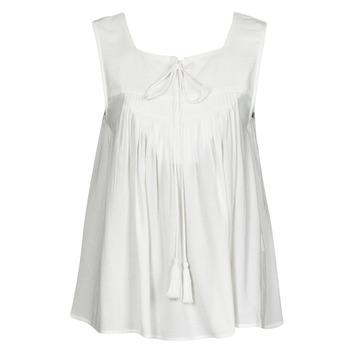 Abbigliamento Donna Top / T-shirt senza maniche See U Soon 21111205B Bianco