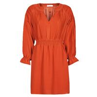 Abbigliamento Donna Abiti corti See U Soon 21122109 Rosso