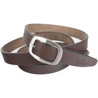 Accessori Cinture Lois Unisex Leather Marrone