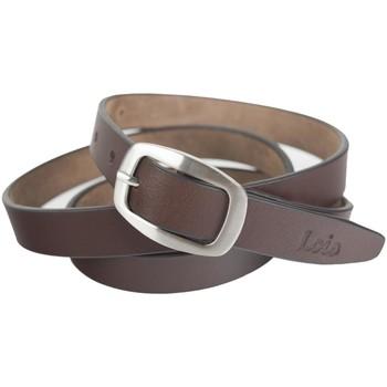 Accessori Cinture Lois La vera cintura unisex in pelle dellazienda Marrone