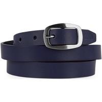 Accessori Cinture Lois Unisex Leather Marino