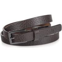 Accessori Cinture Lois Engraved Leather Marrone