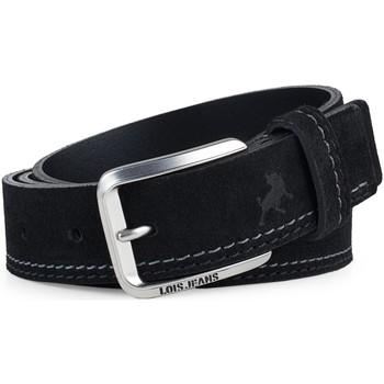Accessori Uomo Cinture Lois Casual Leather Nero