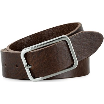 Accessori Uomo Cinture Jaslen Pin Leather Marrone
