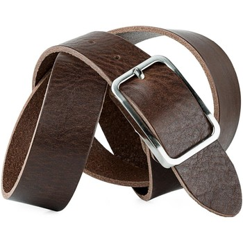 Accessori Cinture Jaslen Pin Leather Marrone