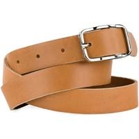 Accessori Cinture Jaslen La vera cintura unisex in pelle di Nero 100