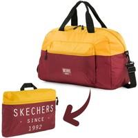 Borse Borse da viaggio Skechers BORSA da palestra pieghevole tascabile integrata MOVE Oro Antico