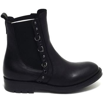 Scarpe Donna Stivaletti Brando scarpe donna tronchetto 100 nero