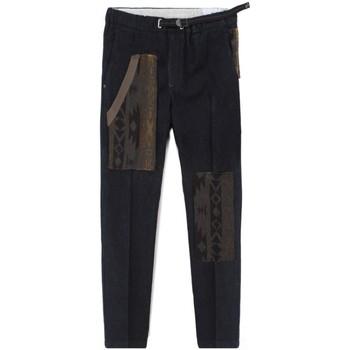 Abbigliamento Uomo Chino White Sand Pantaloni Chino Blu  WS20WSU66 327-IND Blu