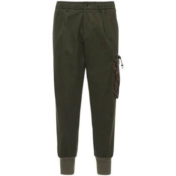 Abbigliamento Uomo Chino White Sand Pantaloni Chino Verde  WS20WSU07 302-POL UN Verde