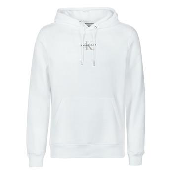 Abbigliamento Uomo Felpe Calvin Klein Jeans NEW ICONIC ESSENTIAL HOODIE Bianco