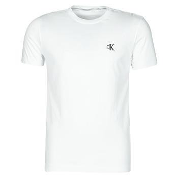 Abbigliamento Uomo T-shirt maniche corte Calvin Klein Jeans YAF Bianco