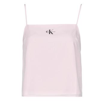 Abbigliamento Donna Top / Blusa Calvin Klein Jeans MONOGRAM CAMI TOP Rosa