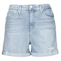 Abbigliamento Donna Shorts / Bermuda Calvin Klein Jeans MOM SHORT Blu / Clair