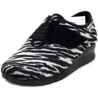 Scarpe Donna Sneakers Emanuela Sneaker Nero/beige