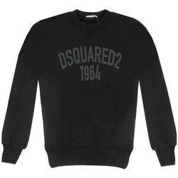 Abbigliamento Bambino Felpe Dsquared FELPA GIROCOLLO DQ02ER-D00P6 Nero