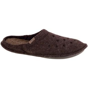 Scarpe Uomo Pantofole Crocs Classic Slipper Marrone