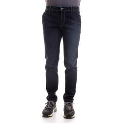 Abbigliamento Uomo Jeans slim Camouflage CHINOS REY 17 D00 blu