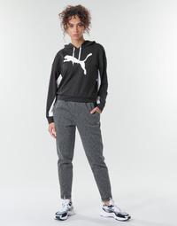 Abbigliamento Donna Pantaloni da tuta Puma Evostripe Pants Grigio / Nero