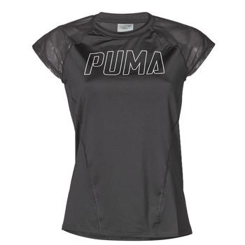 Abbigliamento Donna T-shirt maniche corte Puma WMN TRAINING TEE F Nero