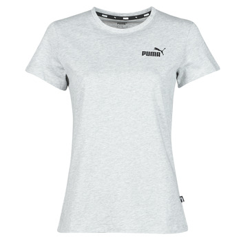Abbigliamento Donna T-shirt maniche corte Puma ESS LOGO TEE Grigio / Chiné