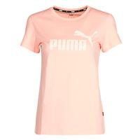 Abbigliamento Donna T-shirt maniche corte Puma ESS Logo Tee (s) Albiccoca