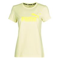 Abbigliamento Donna T-shirt maniche corte Puma ESS Logo Tee (s) Giallo