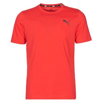 Abbigliamento Uomo T-shirt maniche corte Puma ESS TEE Rosso