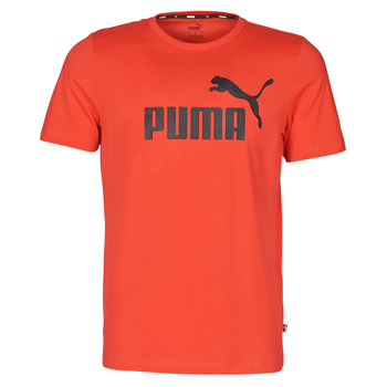 Abbigliamento Uomo T-shirt maniche corte Puma ESSENTIAL TEE Rosso