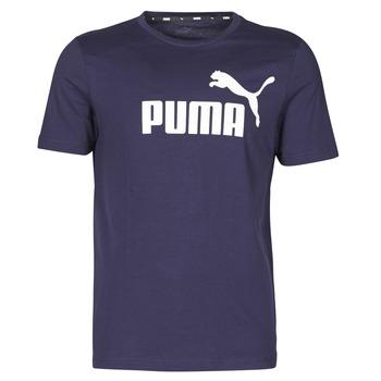 Abbigliamento Uomo T-shirt maniche corte Puma ESSENTIAL TEE Marine