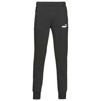 Abbigliamento Uomo Pantaloni da tuta Puma ESS LOGO SLIM PANT LOGO FL CL Nero