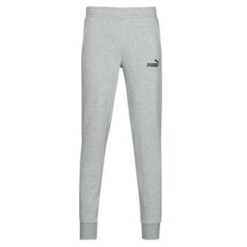 Abbigliamento Uomo Pantaloni da tuta Puma ESS LOGO SLIM PANT LOGO FL CL Grigio