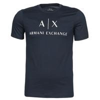 Abbigliamento Uomo T-shirt maniche corte Armani Exchange 8NZTCJ-Z8H4Z Marine