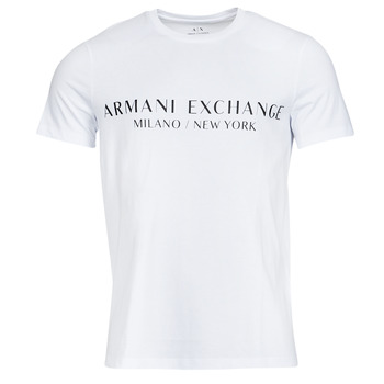 Abbigliamento Uomo T-shirt maniche corte Armani Exchange 8NZT72-Z8H4Z Bianco