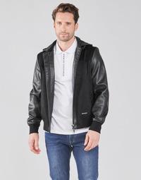 Abbigliamento Uomo Giubbotti Armani Exchange 3KZB03-ZE1AZ Nero