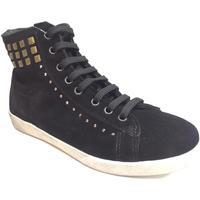 Scarpe Donna Sneakers alte Kioss ATRMPN-22655 Nero