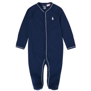 Abbigliamento Bambino Pigiami / camicie da notte Polo Ralph Lauren LOLLA Marine