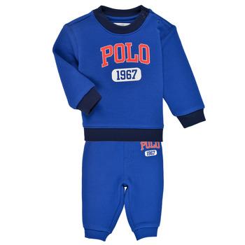 Abbigliamento Bambino Completo Polo Ralph Lauren NOELLE Blu