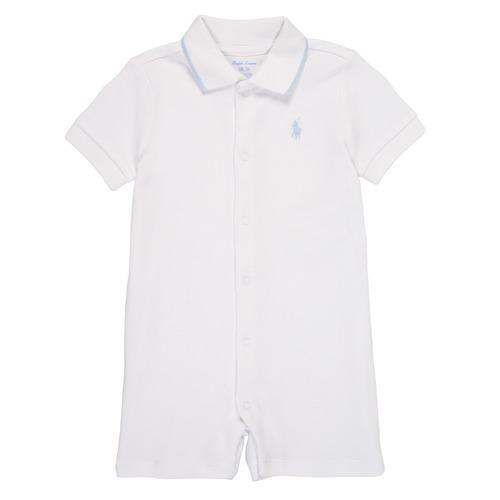 Abbigliamento Bambino Tuta jumpsuit / Salopette Polo Ralph Lauren TONNY Bianco