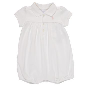 Abbigliamento Bambina Tuta jumpsuit / Salopette Polo Ralph Lauren SIMONE Bianco