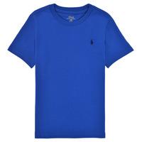 Abbigliamento Bambino T-shirt maniche corte Polo Ralph Lauren ELIVA Blu / Zaffiro