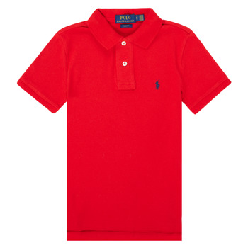 Abbigliamento Bambino Polo maniche corte Polo Ralph Lauren FRANCHI Rosso