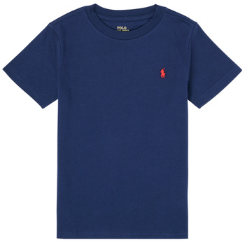 Abbigliamento Bambino T-shirt maniche corte Polo Ralph Lauren TINNA Marine