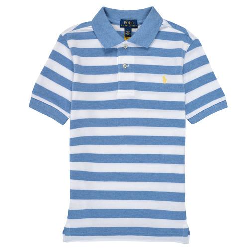 Abbigliamento Bambino Polo maniche corte Polo Ralph Lauren VRILLA Multicolore